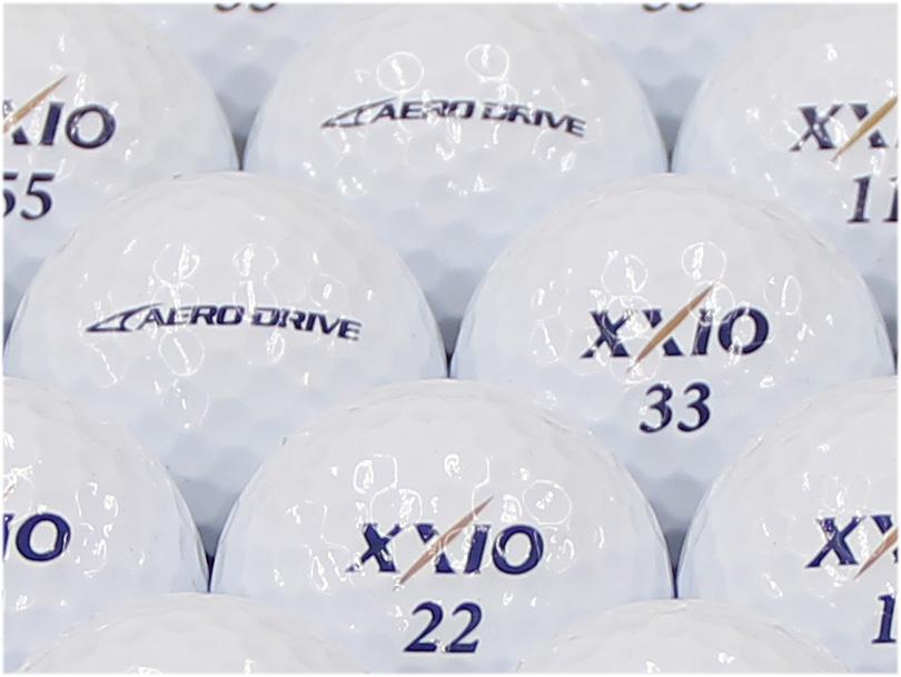 【ABランク】XXIO(ゼクシオ) AERO DRIVE ホワイト 2015年モデル 1個