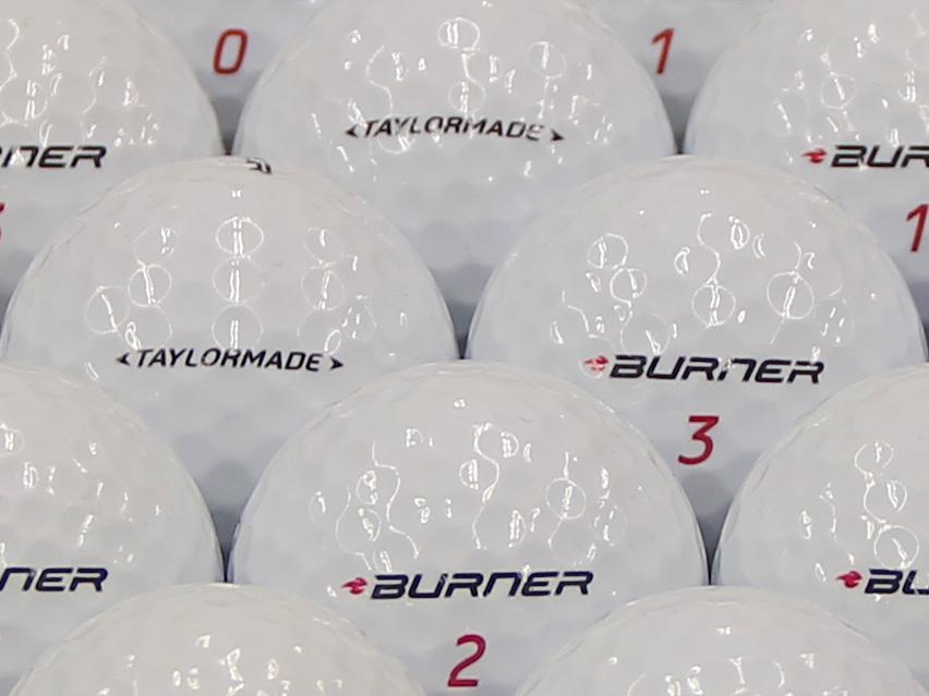 【ABランク】Taylor Made(テーラーメイド) BURNER ホワイト 2013年モデル 1個