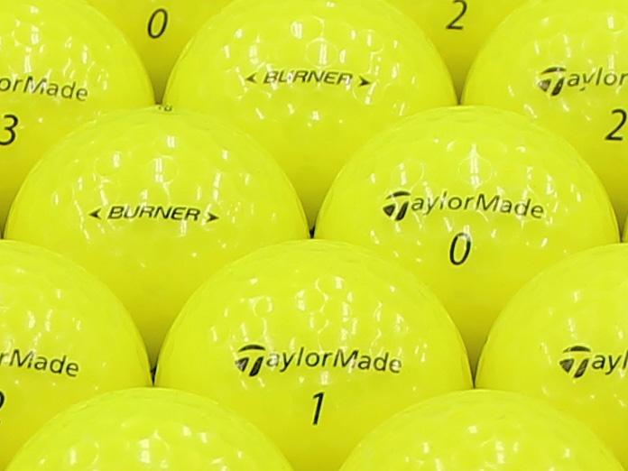 【ABランク】Taylor Made(テーラーメイド) BURNER イエロー 2013年モデル 1個
