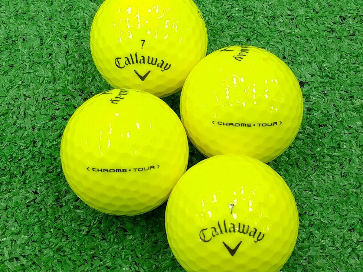 【ABランク】Callaway(キャロウェイ) CHROME・TOUR イエロー 2016年モデル 1個