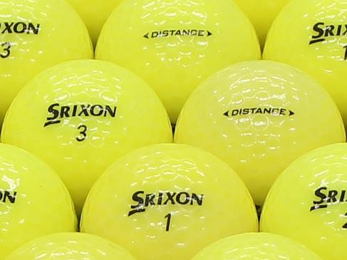 【ABランク】SRIXON(スリクソン) DISTANCE パッションイエロー 2011年モデル 1個