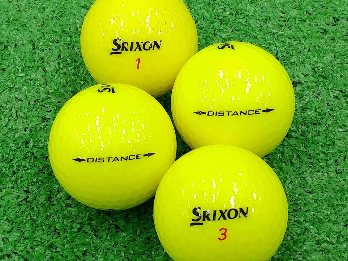 【ABランク】SRIXON(スリクソン) DISTANCE パッションイエロー 2015年モデル 1個