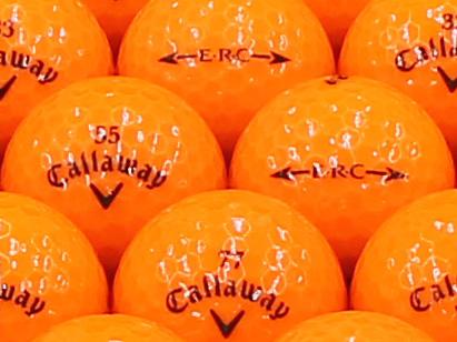 【ABランク】Callaway(キャロウェイ) ERC クリスタルオレンジ 2013年モデル 1個