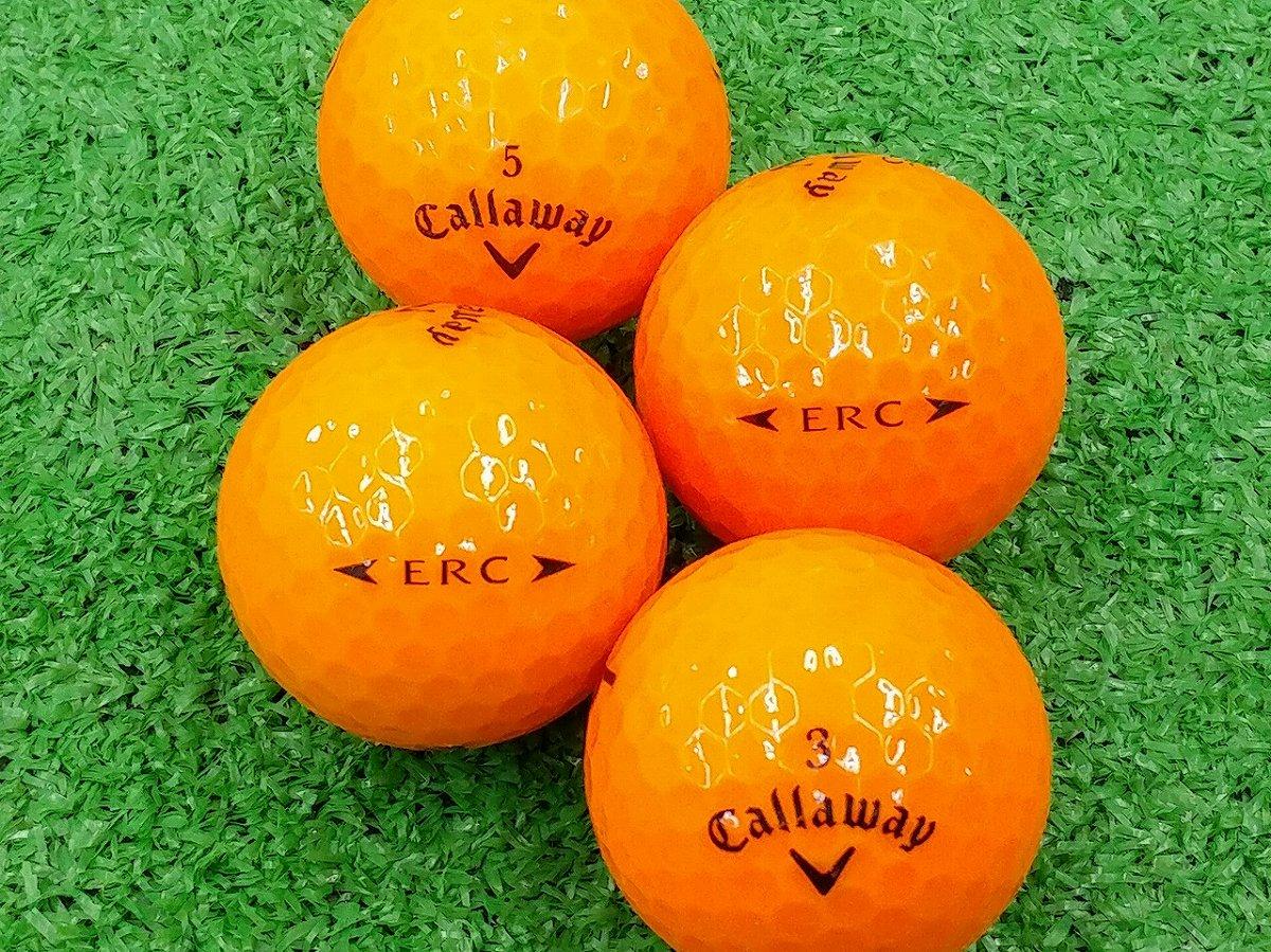 【ABランク】Callaway(キャロウェイ) ERC クリスタルオレンジ 2016年モデル 1個