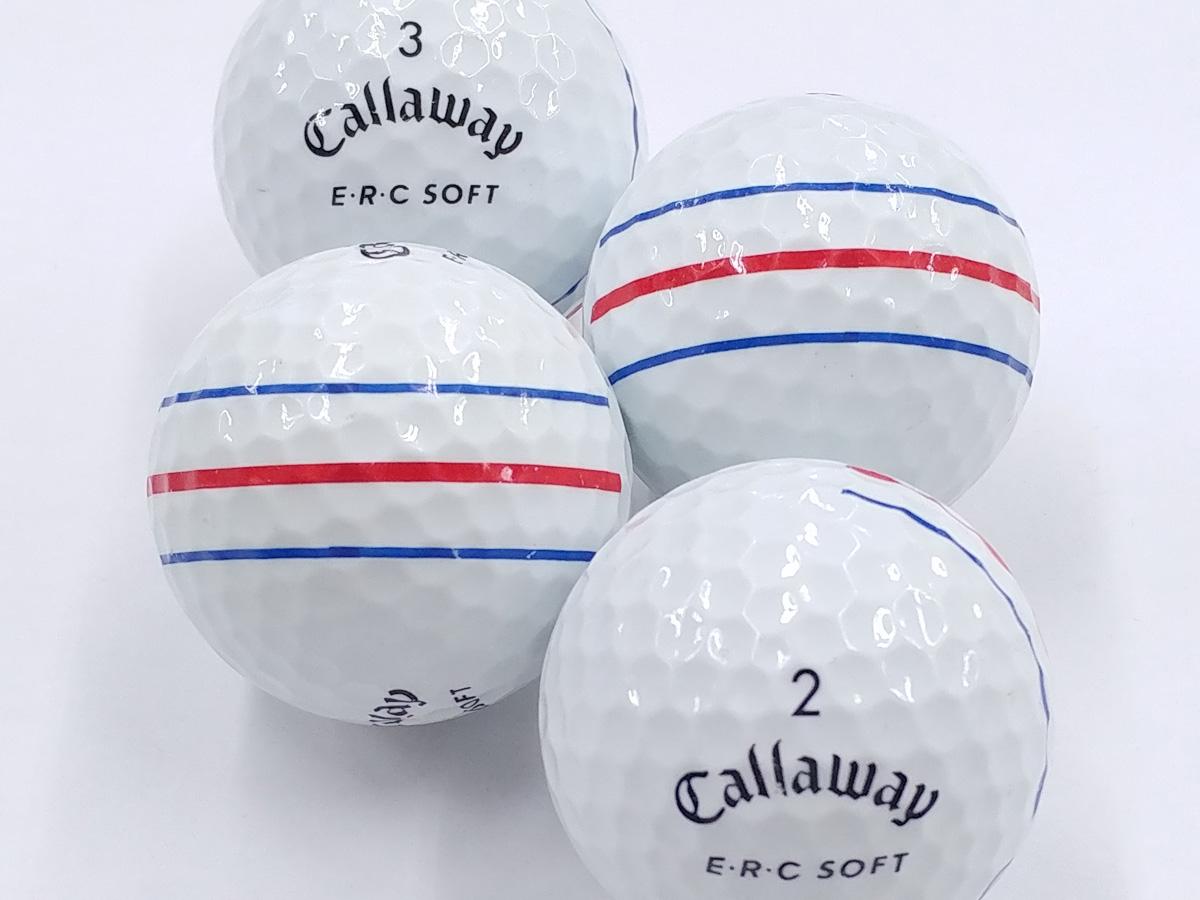 【ABランク】Callaway(キャロウェイ) E・R・C SOFT ホワイト 2019年モデル 1個