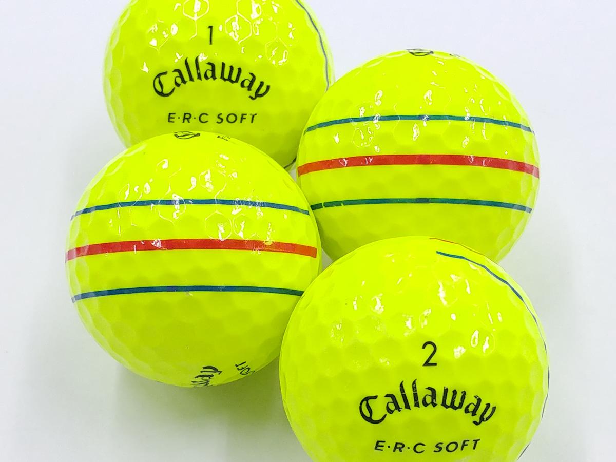 【ABランク】Callaway(キャロウェイ) E・R・C SOFT イエロー 2019年モデル 1個