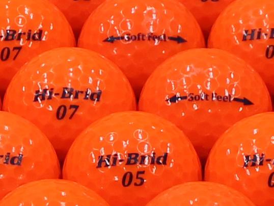 【ABランク】HI-BRID Soft Feel パッションオレンジ 2012年モデル 1個