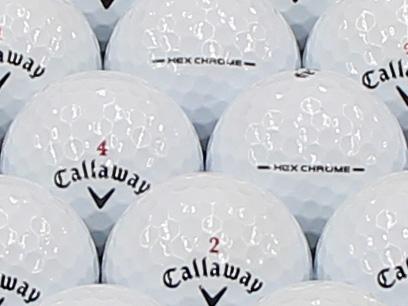 【ABランク】Callaway(キャロウェイ) HEX CHROME ホワイト 1個