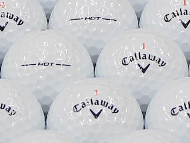 【ABランク】Callaway(キャロウェイ) HEX HOT ホワイト 2013年モデル 1個