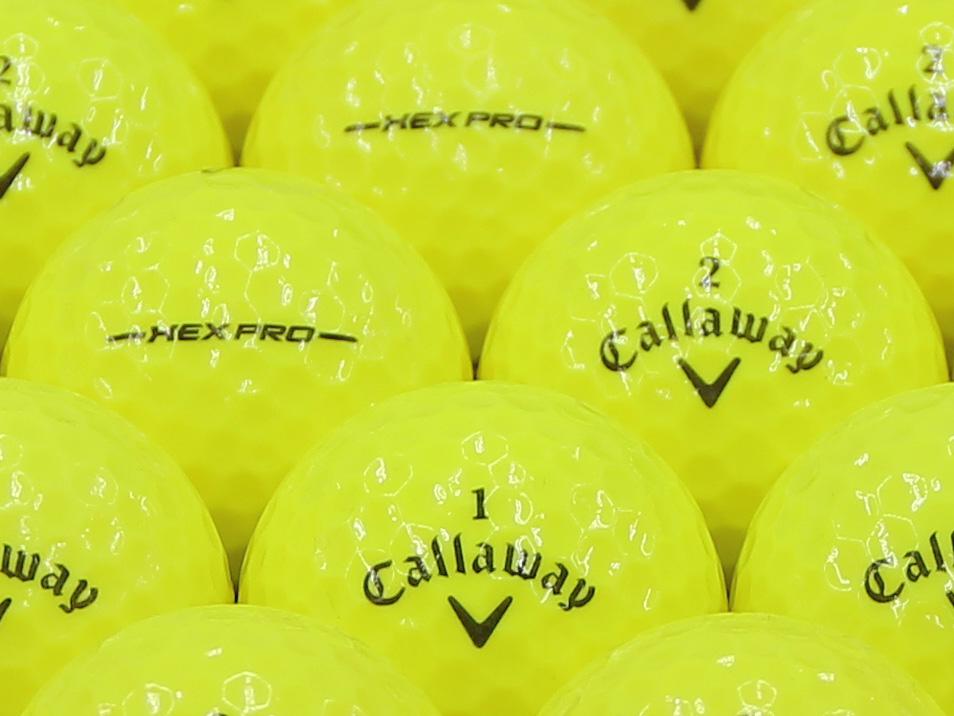 【ABランク】Callaway(キャロウェイ) HEX PRO イエロー 1個