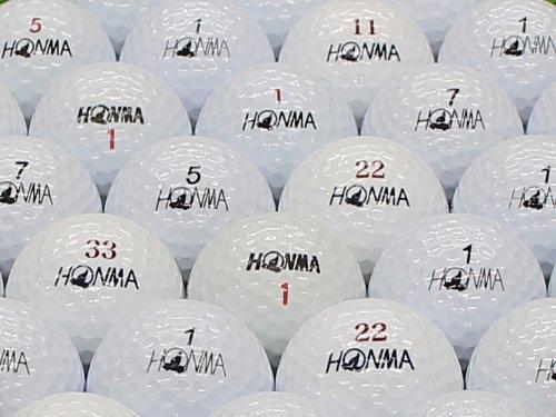 【ABランク】本間ゴルフ 球種混合 ホワイト 1個