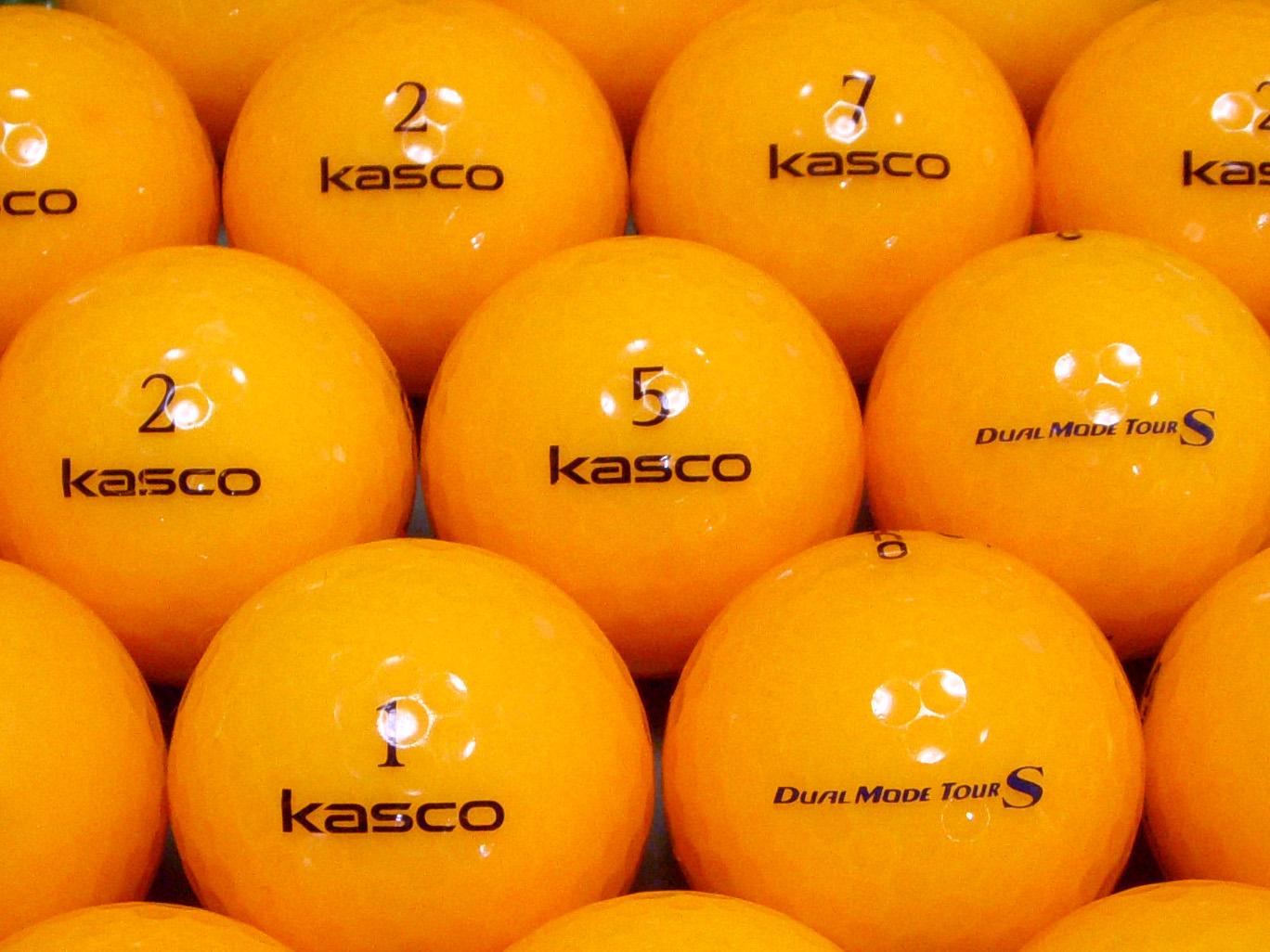 【ABランク】Kasco(キャスコ) KIRA  DUAL MODE TOUR S オレンジ 1個