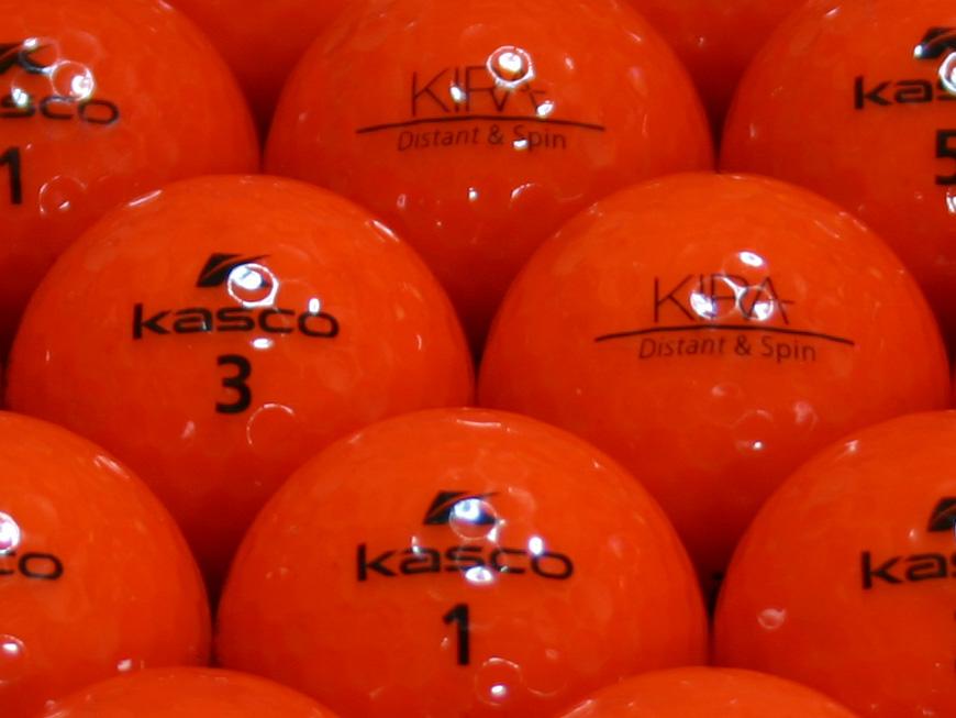 【ABランク】Kasco(キャスコ) KIRA Distant&Spin レッド 1個