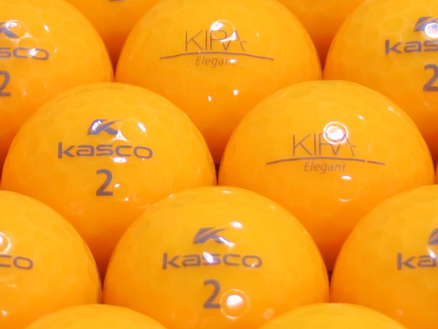 【ABランク】Kasco(キャスコ) KIRA Elegant オレンジ 1個