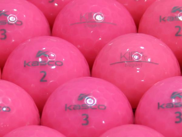 【ABランク】Kasco(キャスコ) KIRA Elegant ピンク 1個