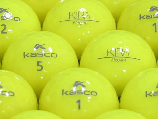 【ABランク】Kasco(キャスコ) KIRA Elegant イエロー 1個