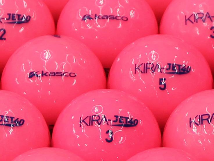 【ABランク】Kasco(キャスコ) KIRA JET40 ピンク 2013年モデル 1個