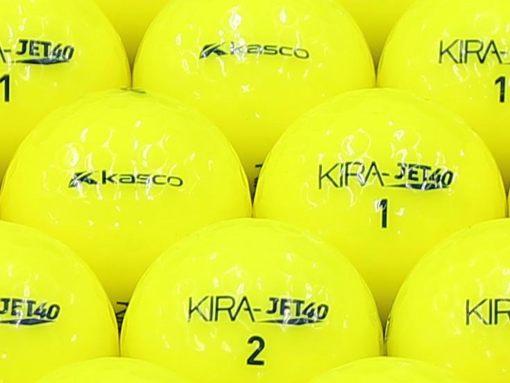【ABランク】Kasco(キャスコ) KIRA JET40 イエロー 2013年モデル 1個
