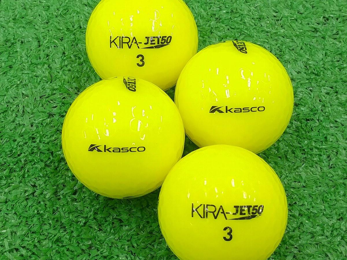 【ABランク】Kasco(キャスコ) KIRA JET50 イエロー 2013年モデル 1個