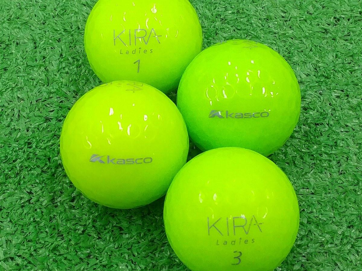 【ABランク】Kasco(キャスコ) KIRA Ladies ライム 2012年モデル 1個