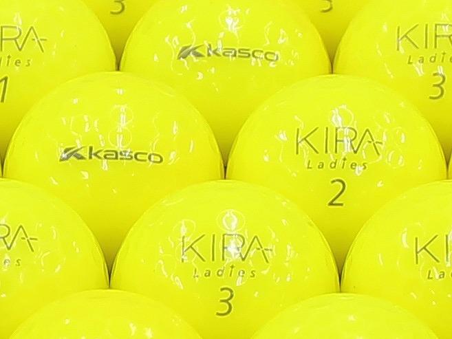 【ABランク】Kasco(キャスコ) KIRA Ladies イエロー 2012年モデル 1個