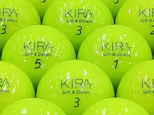 【ABランク】Kasco(キャスコ) KIRA Soft&Distant ライム 2012年モデル 1個