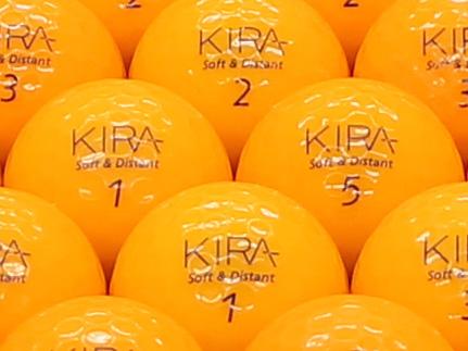 【ABランク】Kasco(キャスコ) KIRA Soft&Distant オレンジ 2012年モデル 1個