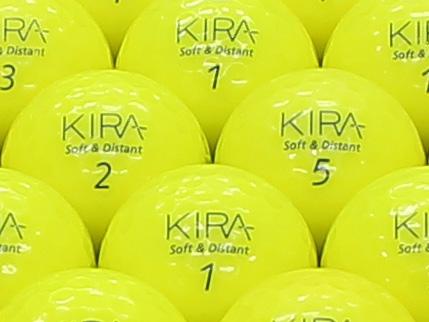 【ABランク】Kasco(キャスコ) KIRA Soft&Distant イエロー 2012年モデル 1個