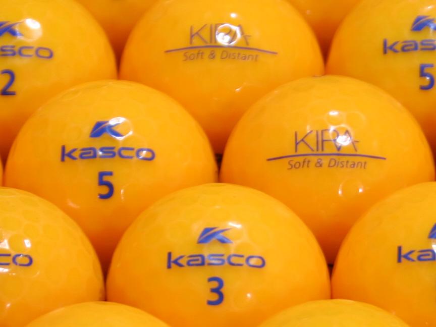 【ABランク】Kasco(キャスコ) KIRA Soft&Distant オレンジ 1個