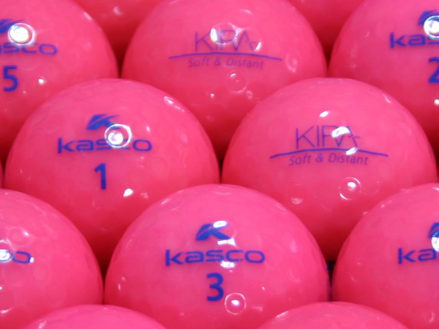 【ABランク】Kasco(キャスコ) KIRA Soft&Distant ピンク 1個