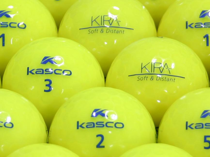 【ABランク】Kasco(キャスコ) KIRA Soft&Distant イエロー 1個