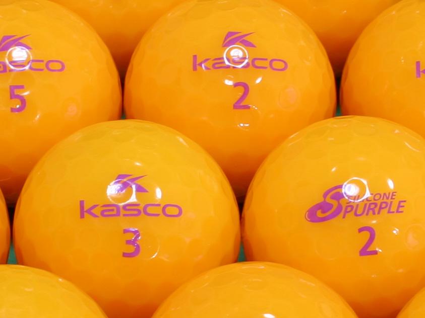 【ABランク】Kasco(キャスコ) KIRA SILICONE PURPLE オレンジ 1個