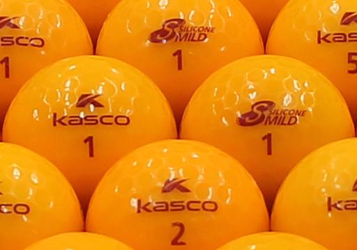 【ABランク】Kasco(キャスコ) KIRA SILICONE MILD オレンジ 1個