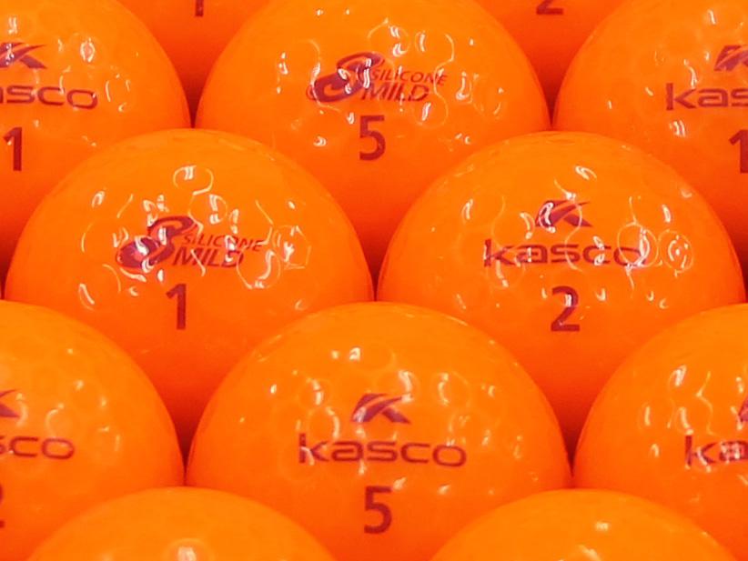 【ABランク】Kasco(キャスコ) KIRA SILICONE MILD 濃いオレンジ 1個