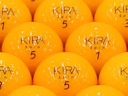 【ABランク】Kasco(キャスコ) KIRA Spin オレンジ 2012年モデル 1個
