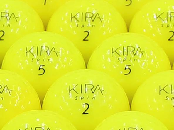【ABランク】Kasco(キャスコ) KIRA Spin イエロー 2012年モデル 1個