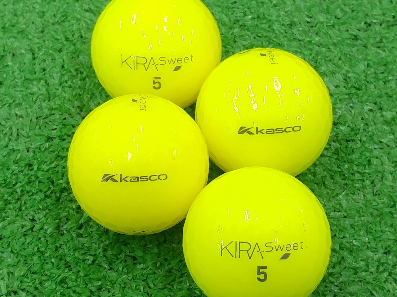 【ABランク】Kasco(キャスコ) KIRA Sweet イエロー 2013年モデル 1個