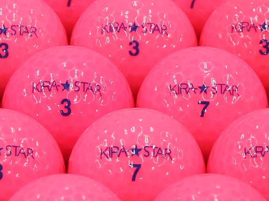 【ABランク】Kasco(キャスコ) KIRA★STAR ピンク 2013年モデル 1個