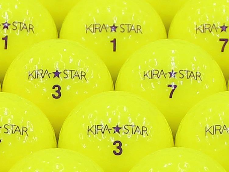 【ABランク】Kasco(キャスコ) KIRA★STAR イエロー 2013年モデル 1個