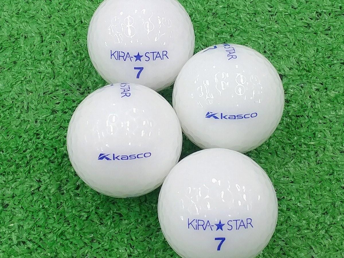 【ABランク】Kasco(キャスコ) KIRA★STAR ホワイト 2015年モデル 1個