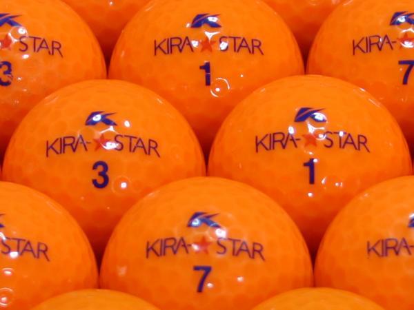 【ABランク】Kasco(キャスコ) KIRA★STAR オレンジ 2010年モデル 1個