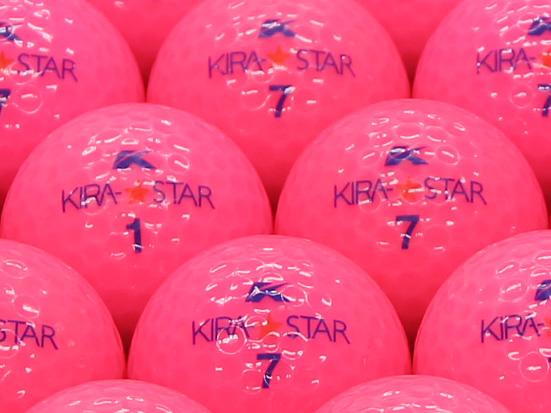 【ABランク】Kasco(キャスコ) KIRA★STAR ピンク 2010年モデル 1個