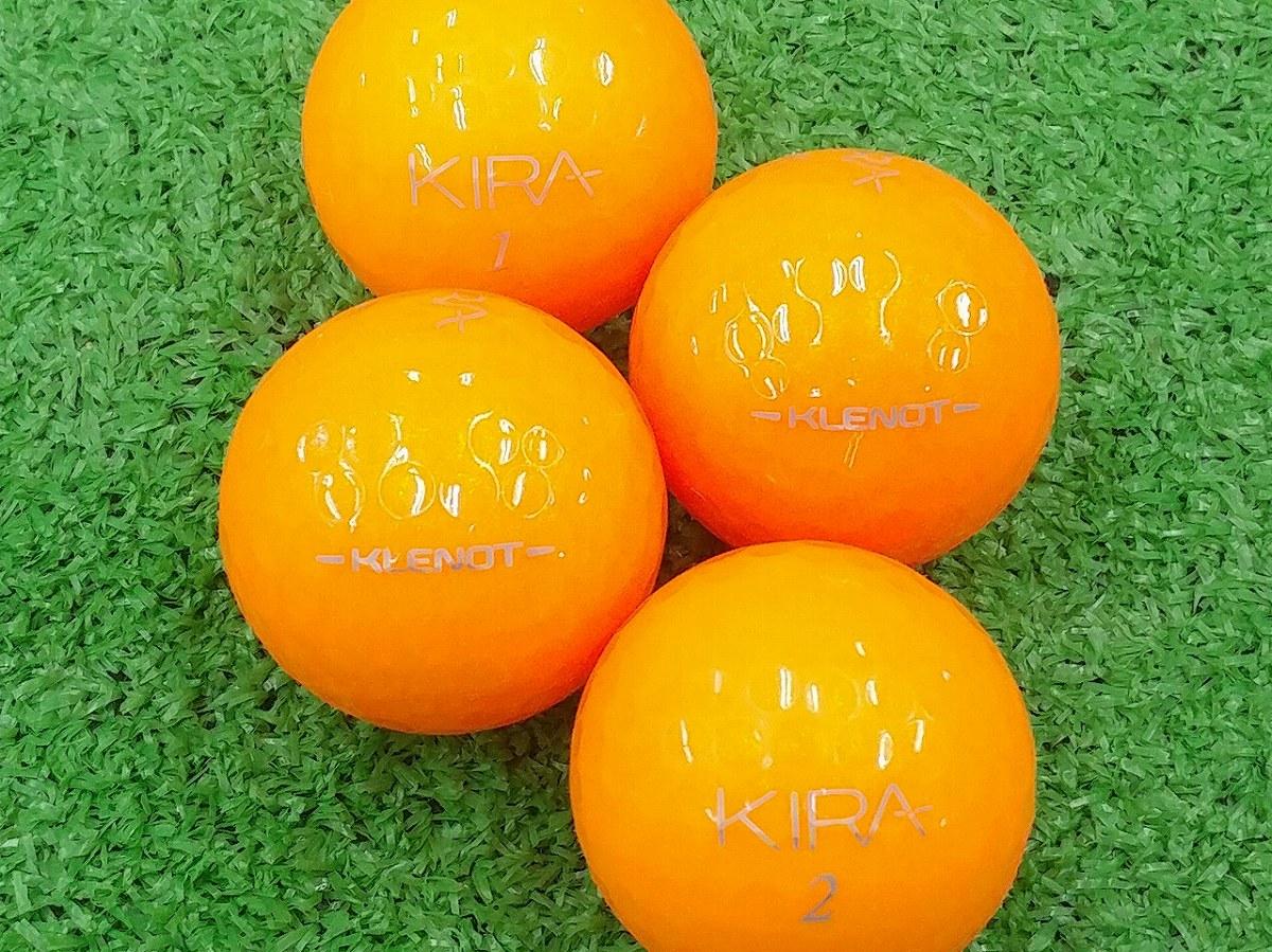 【ABランク】Kasco(キャスコ) KIRA KLENOT オレンジトパーズ 2016年モデル 1個