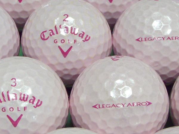 【ABランク】Callaway(キャロウェイ) LEGACY AERO ルミナスピンク 2009年モデル 1個