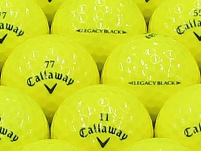【ABランク】Callaway(キャロウェイ) LEGACY BLACK イエロー 2013年モデル 1個