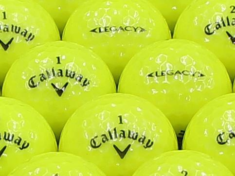 【ABランク】Callaway(キャロウェイ) LEGACY スパークリングイエロー 2012年モデル 1個
