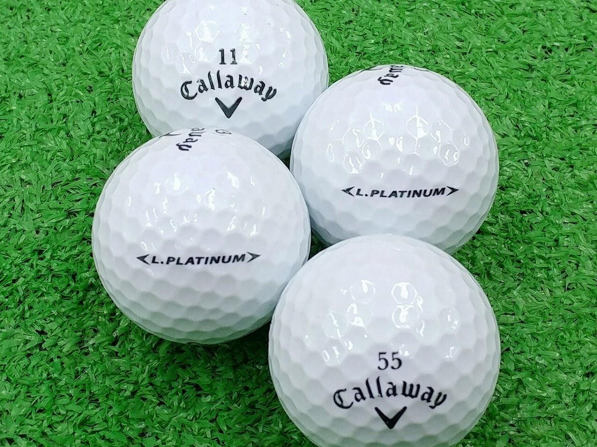 【ABランク】Callaway(キャロウェイ) LEGACY PLATINUM パールホワイト 2014年モデル 1個
