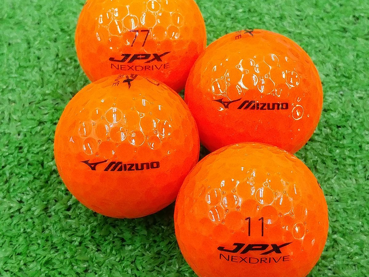 【ABランク】ミズノ JPX NEXDRIVE オレンジ 2015年モデル 1個