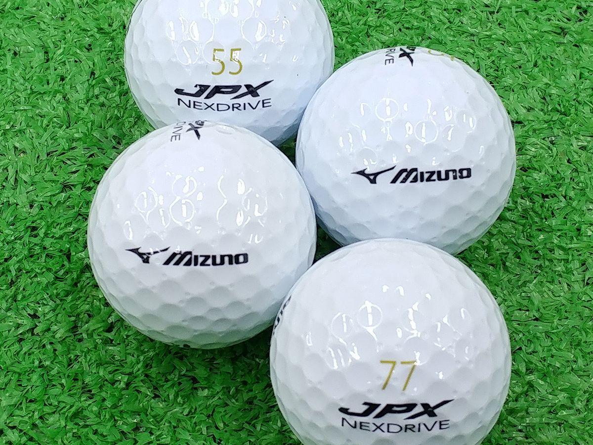 【ABランク】ミズノ JPX NEXDRIVE ホワイト 2015年モデル 1個