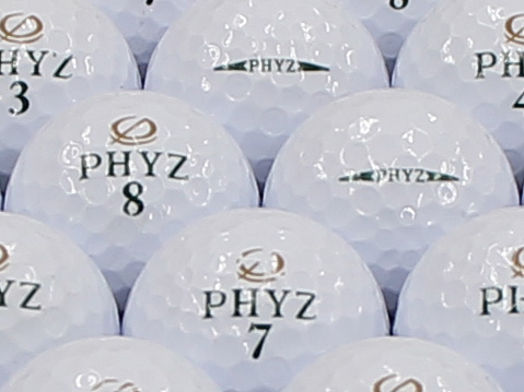 【ABランク】ツアーステージ PHYZ ホワイト 2013年モデル 1個